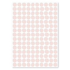 Achat Sticker Planche de Stickers - Pois Rose Pearl