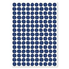 Achat Sticker Planche de Stickers - Pois Navy