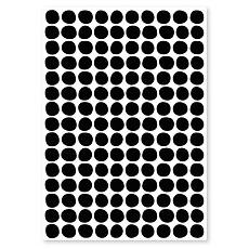 Achat Sticker Planche de Stickers - Pois Noir