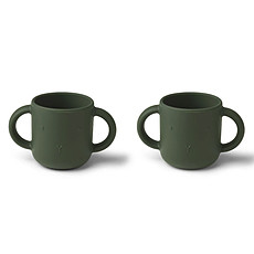Achat Tasse & Verre Lot de 2 Tasses Gene Rabbit Hunter Green - 160 ml