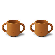 Achat Tasse & Verre Lot de 2 Tasses Gene Rabbit Mustard - 160 ml