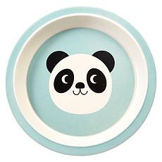 Achat Vaisselle & Couvert Assiette en Bambou - Miko le Panda
