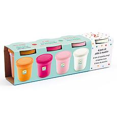 Achat Livre & Carte Lot de 4 Pots de Pâte à Modeler - Sweet