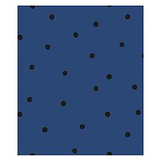 Achat Papier peint Papier Peint Minima - Bleu Marine et Pois Noirs