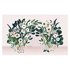 Achat Papier peint Fresque - Arche de Fleurs