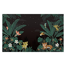 Achat Papier peint Fresque - Jungle Night