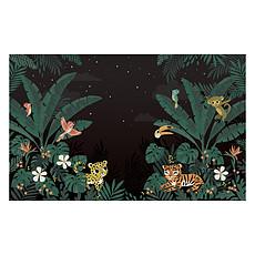 Achat Papier peint Fresque Jungle Friends - Jungle Night