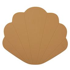 Achat Vaisselle & Couvert Set de Table Coquillage - Terracotta