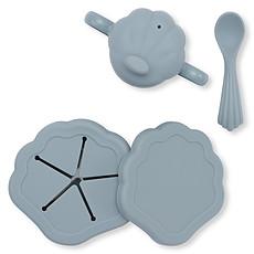 Achat Coffret repas Set de Repas 5 Pièces Coquillage - Light Blue