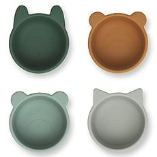 Achat Vaisselle & Couvert Lot de 4 Bolds Malene - Green Multi Mix