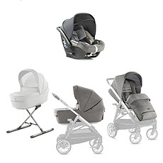 Achat Accessoires poussette Quattro Full Kit System Aptica Darwin - Mineral Grey
