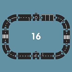 Achat Mes premiers jouets Circuit Flexible à Assembler Nationale