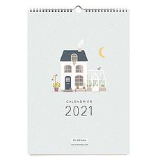 Achat Livre & Carte Calendrier Mural 2021