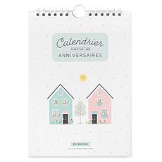 Achat Livre & Carte Calendrier des Anniversaires