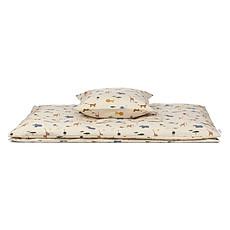 Achat Linge de lit Parure Ingeborg Safari Sandy Mix - 100 x 140 cm