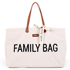 Achat Sac à langer Family Bag - Teddy Ecru