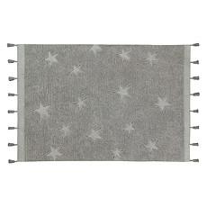 Achat Tapis Tapis Lavable Hippy Stars Gris - 120 x 175 cm