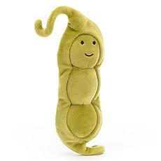 Achat Peluche Vivacious Vegetable Pea