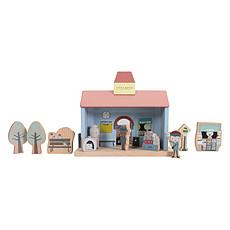 Achat Mes premiers jouets Extension Gare Circuit Train en Bois