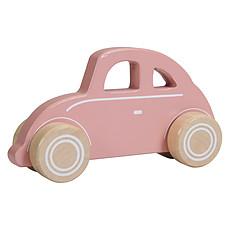Achat Mes premiers jouets Voiture en Bois Wild Flowers - Pink