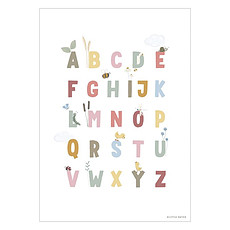 Achat Affiche & poster Poster Réversible Alphabet et Chiffres Little Goose - Pink