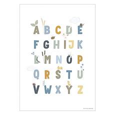 Achat Affiche & poster Poster Réversible Alphabet et Chiffres Little Goose - Blue