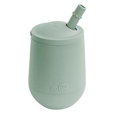 Achat Tasse & Verre Verre avec Paille et Couvercle Vert Amande - 120 ml