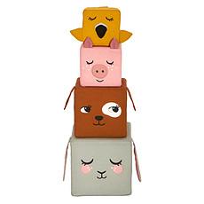 Achat Mes premiers jouets Cubes en Tissu Les Animaux de la Ferme