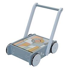 Achat Mes premiers jouets Chariot à Blocs Ocean - Bleu