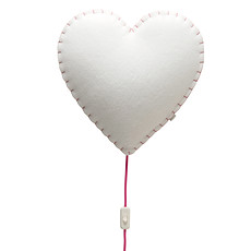 Achat Suspension  décorative Soft Light - Applique Coeur Rose