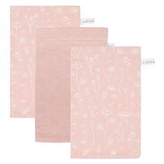 Achat Gant de toilette Lot de 3 Gants de Toilette Wild Flowers - Pink