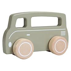 Achat Mes premiers jouets Van en Bois Little Goose - Olive