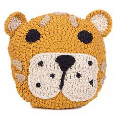 Achat Coussin Coussin en Crochet Léopard
