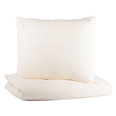 Achat Linge de lit Parure de Lit Himalaya Honey Sweet Dots & Natural - 100 x 150 cm
