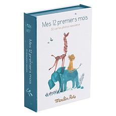 Achat Livre & Carte Cartes Mes 12 Premiers Mois - Sous mon Baobab