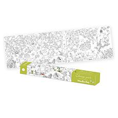 Achat Livre & Carte Coloriage Géant Le Jardin du Moulin - Le Botaniste