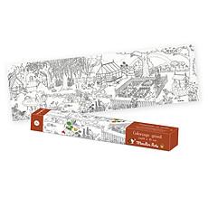 Achat Livre & Carte Coloriage Géant Le Jardin du Moulin - Le Jardinier