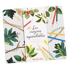 Achat Livre & Carte Lot de 24 Crayons Aquarelables - Le Jardin du Moulin