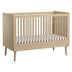 Achat Lit bébé Lit Bébé Retro Chêne - 60 x 120 cm