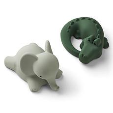 Achat Mes premiers jouets Jouets de Bain Vikky Safari Green Mix