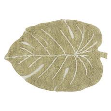 Achat Tapis Tapis Lavable Mini Monstera Olive - 75 x 100 cm