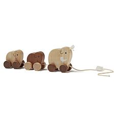 Achat Mes premiers jouets Famille de Mammouths à Tirer Neo