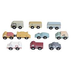 Achat Mes premiers jouets Extension Ensemble de 9 Véhicules Circuit Train en Bois