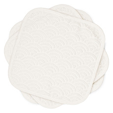 Achat Gant de toilette Lot de 3 Lingettes - Off White