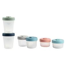 Achat Vaisselle & Couvert Lot Intégral de 6 Portions Clip 90 150 et 250 ml - Multicolore
