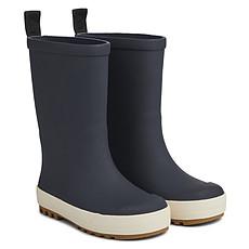 Achat Chaussons & Chaussures Bottes de Pluie River - Navy & Crème de la Crème