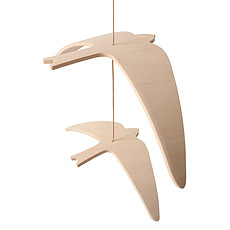 Achat Mobile Mobile Kano Birds - Naturel