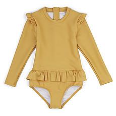 Achat Accessoires bébé Maillot de Bain à Manches Sille Yellow Mellow - 2/3 Ans