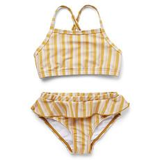 Achat Accessoires bébé Bikini Norma Rayé Peach Sandy & Yellow Mellow - 2/3 Ans