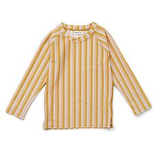 Achat Accessoires bébé Tee-Shirt Noah Rayé Peach Sandy & Yellow Mellow - 3/9 Mois